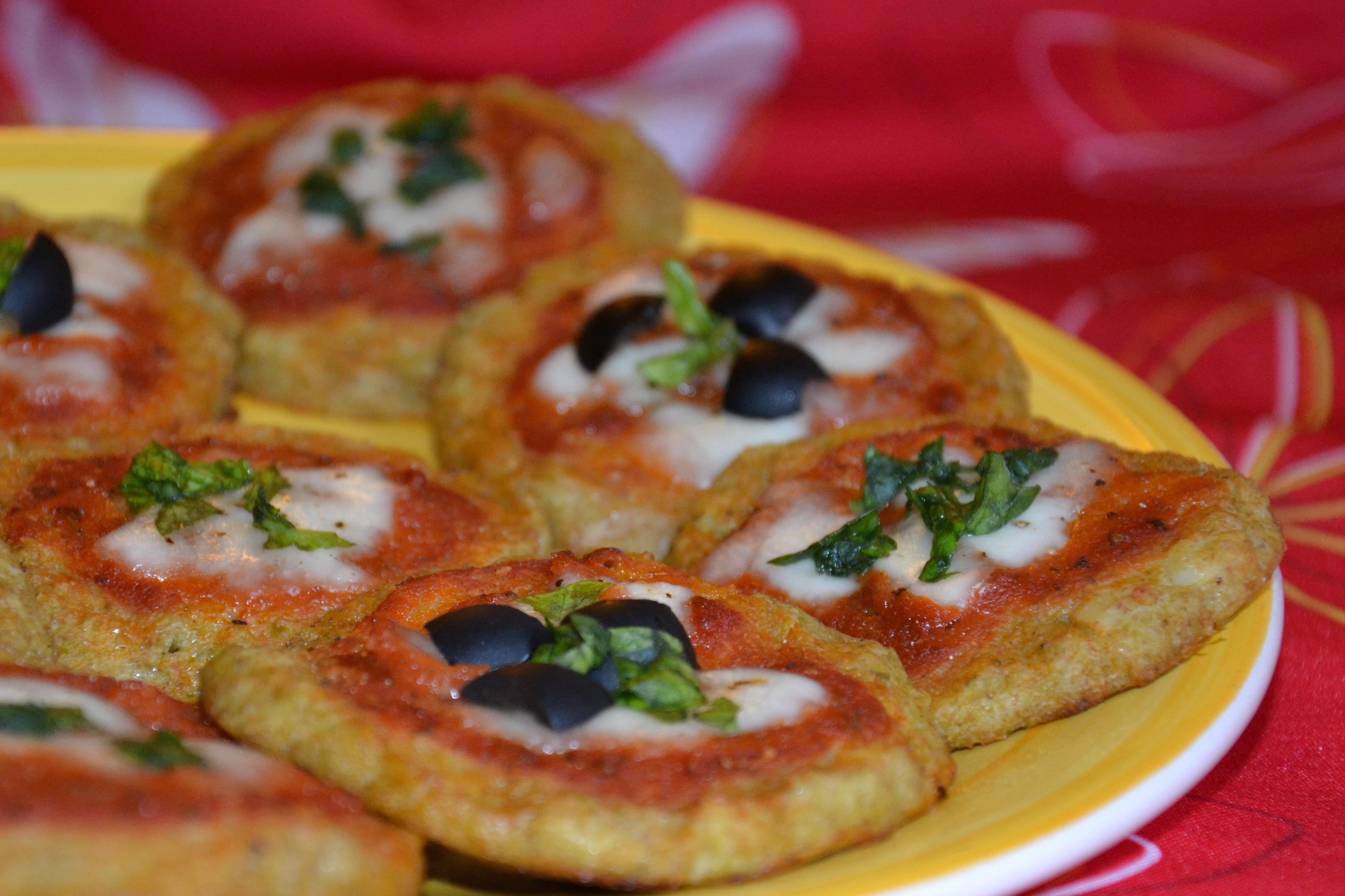 Pizzette di cavolfiore