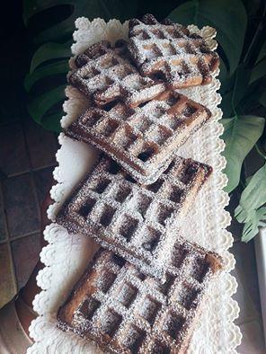 Waffle al cacao Light: la nostra versione vegana