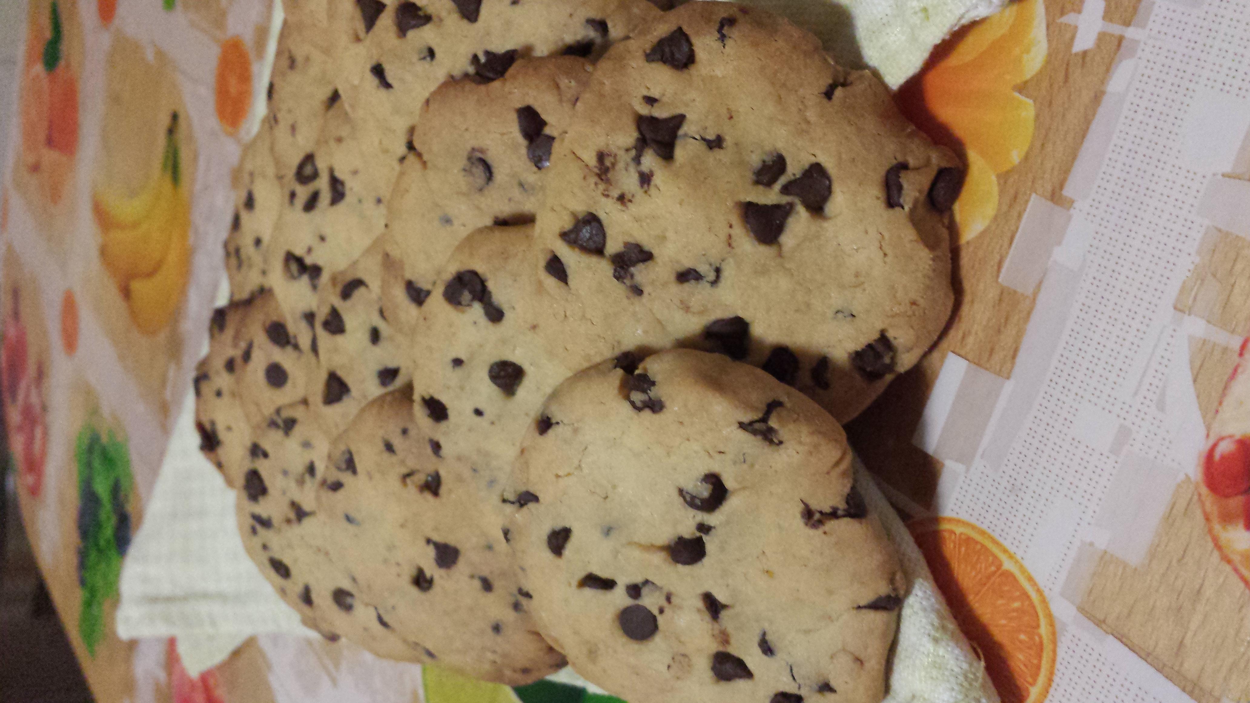 Cookies leggeri di riso