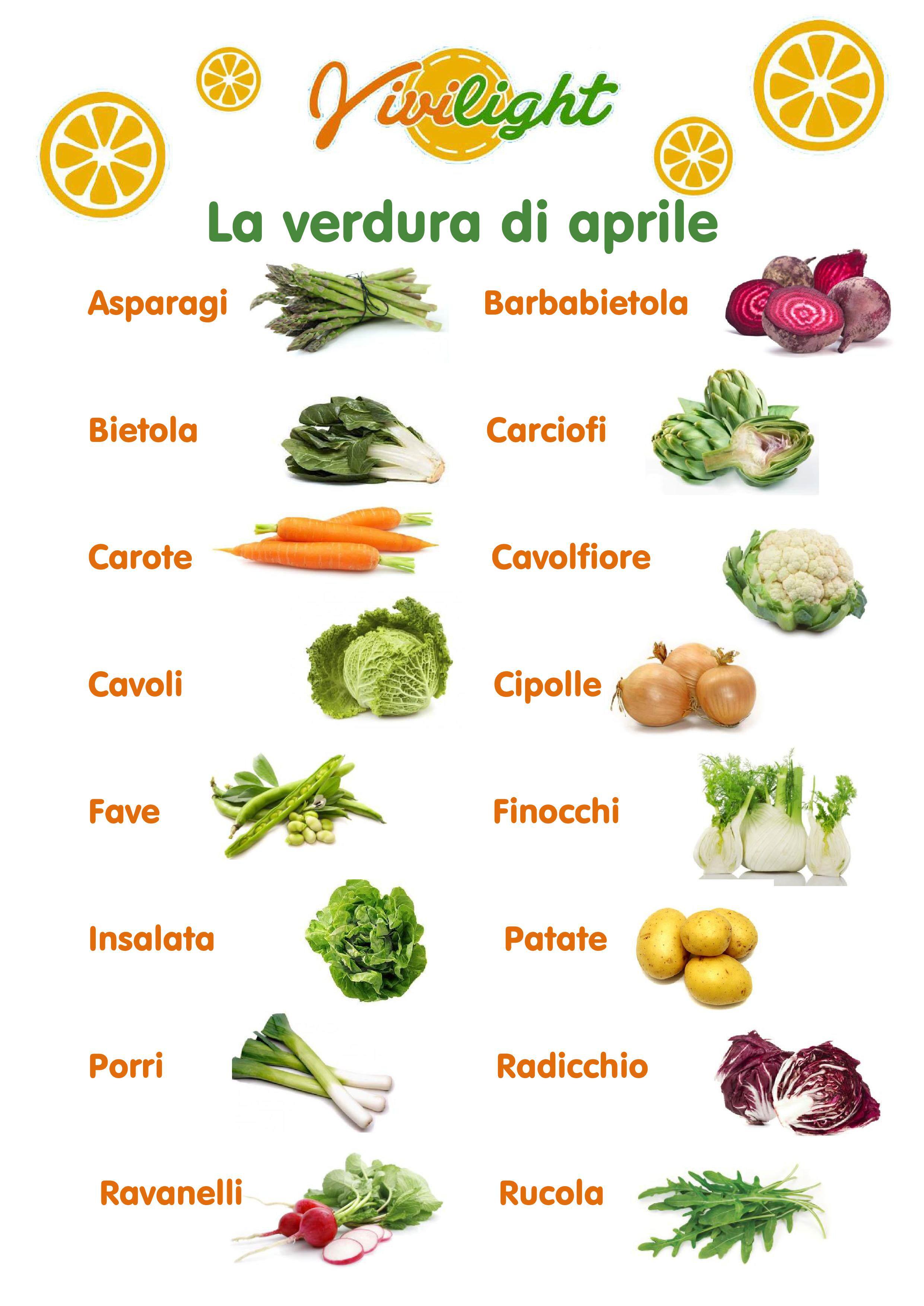 verdura aprile