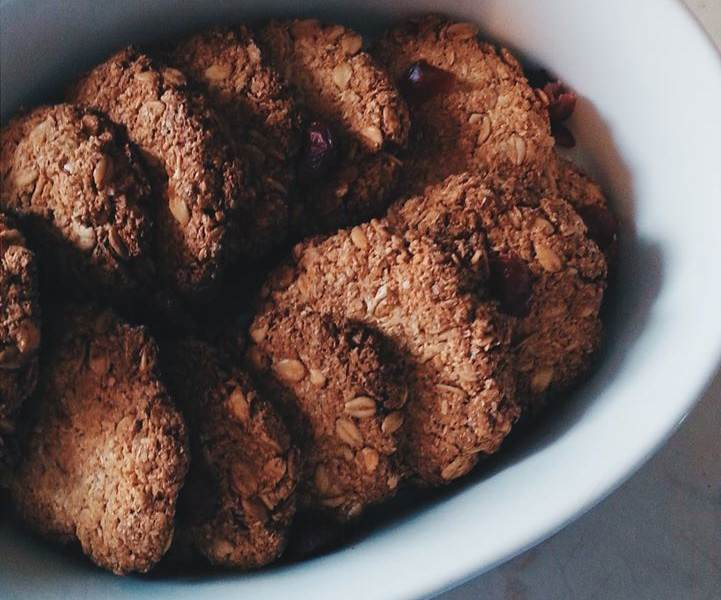 Biscotti simil grancereale con mandorle e cocco