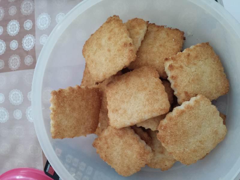 Biscotti di riso e cocco