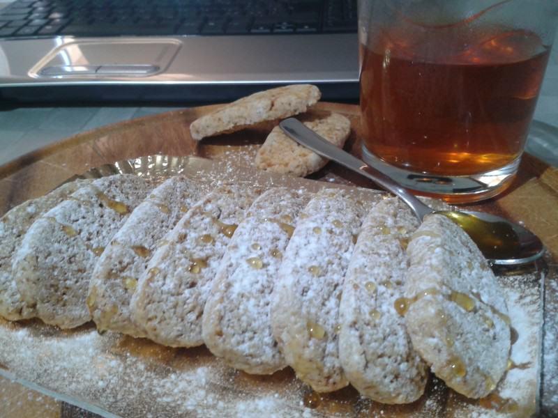 Biscotti light al miele