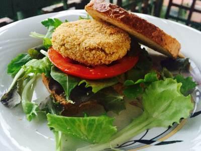 Burger vegetali di ceci