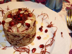 quinoa-melograno-mandorle-sfilacci