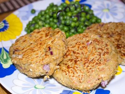 Burger vegetali con fagioli cannellini