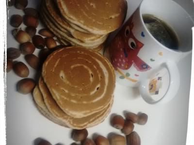 Pancake con latte di mandorla