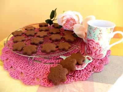 Biscotti di ricotta al cacao