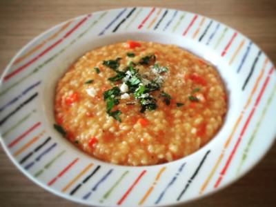 Risotto ai peperoni Light