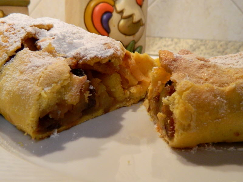 Strudel di mele light