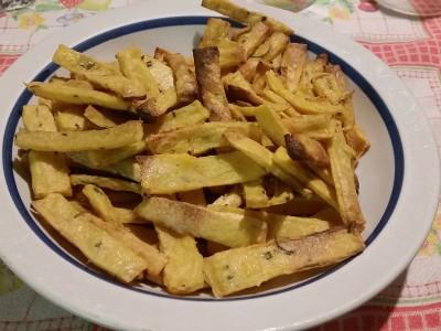 Chips di farina di ceci e mais