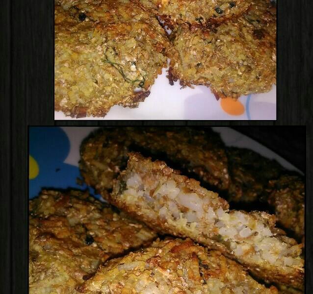 Crocchette di riso basmati e melanzane