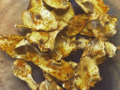 Chips speziate di topinambur