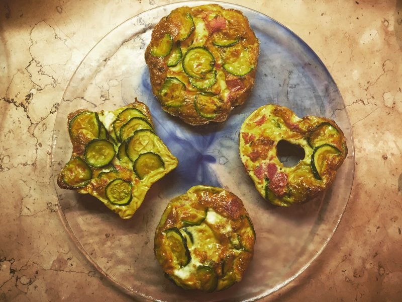 Frittata al forno con verdure miste
