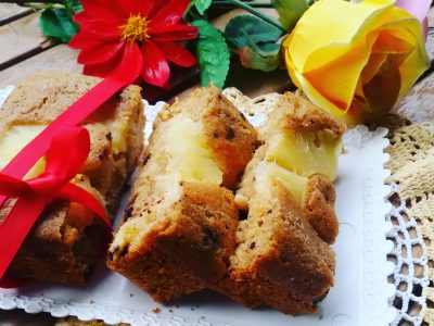 Plumcake integrale all'ananas