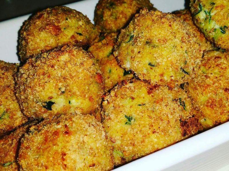 Polpette cremose di zucchine