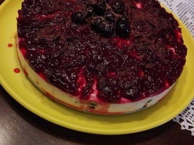 "Cheesecake light ""Foresta Nera"""