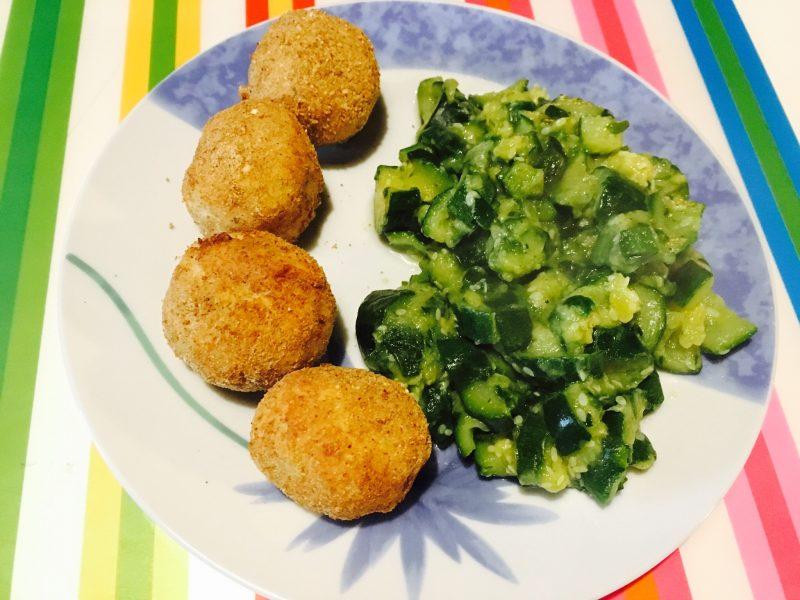 Polpette di orata e patate Light