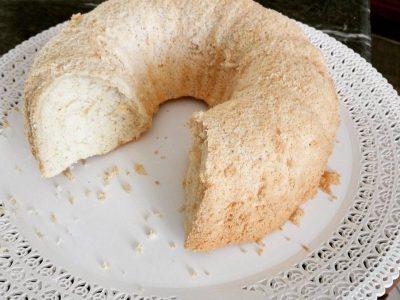Ciambella Light di Albumi (simil Angel Cake)