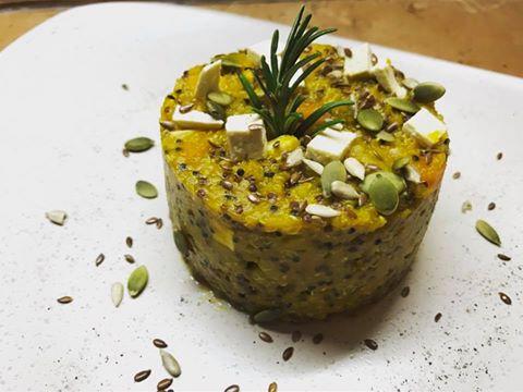 Quinoa Tricolore risottata con verdure
