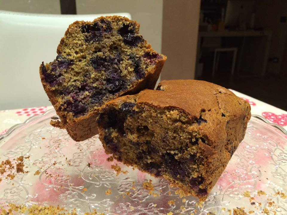 Plumcake ai mirtilli Light