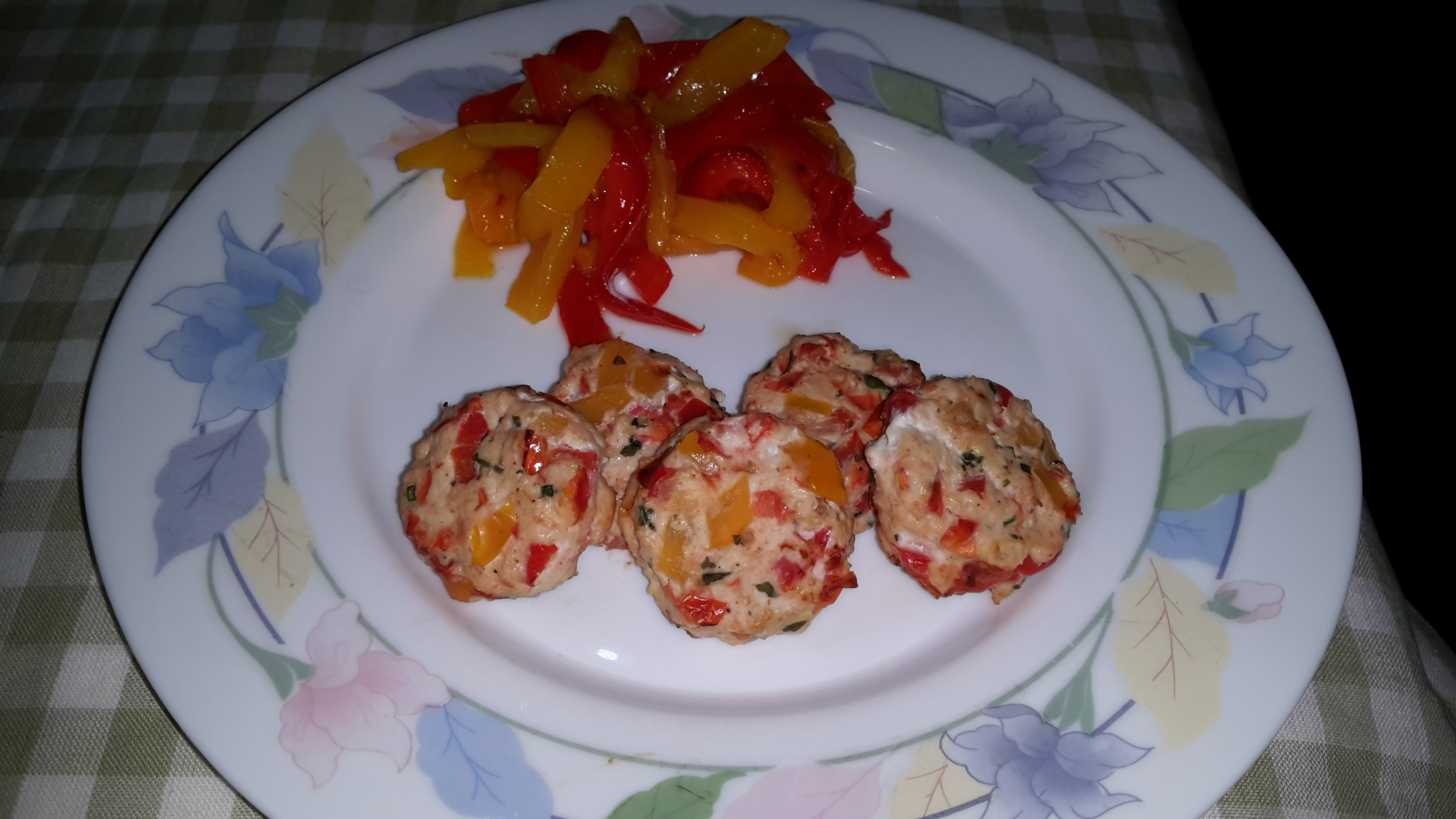 Polpettine Peperoni e Pomodorini