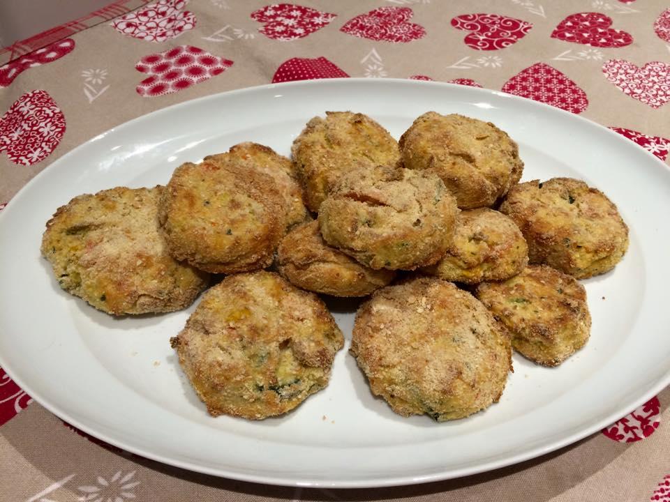 Crocchette di verdure miste al forno