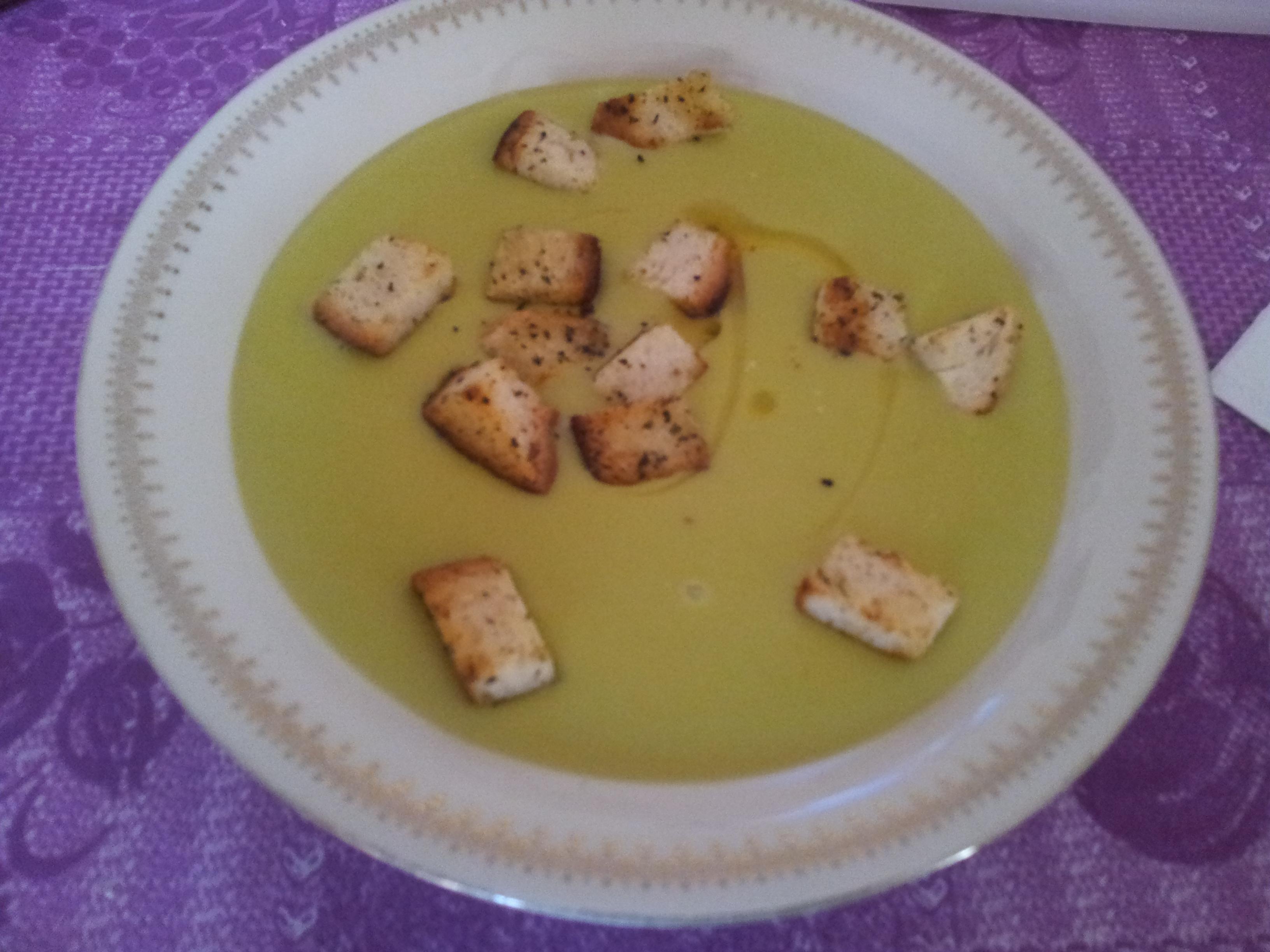 Vellutata di patate e zucchine (bimby)