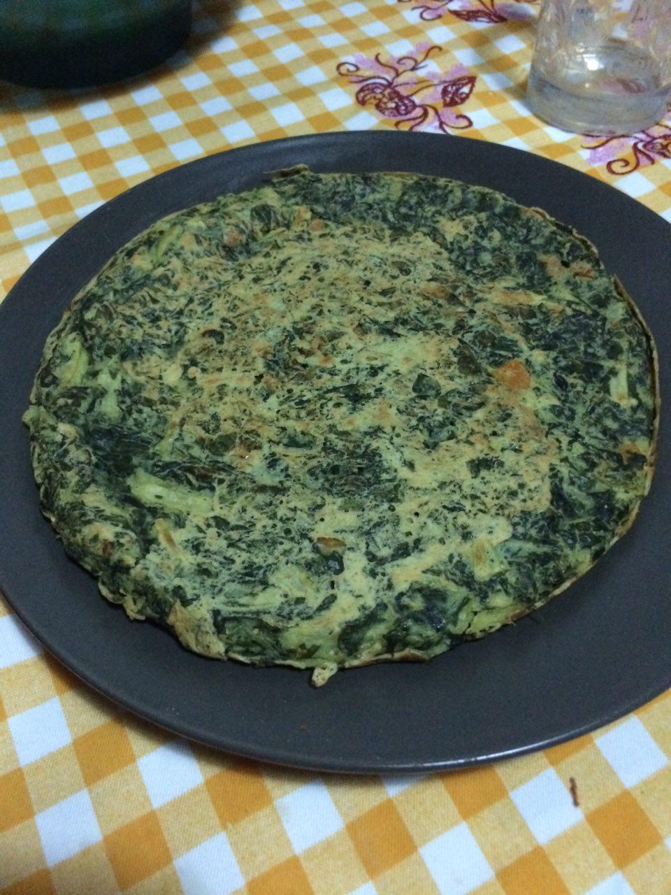 Farifrittata verde speziata
