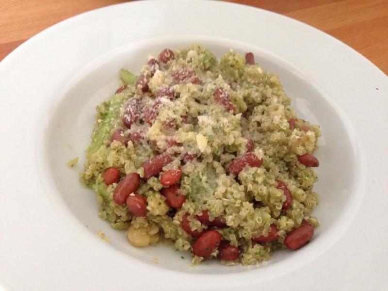 Simil risotto di quinoa