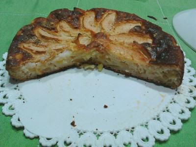 Torta alle mele Superlight