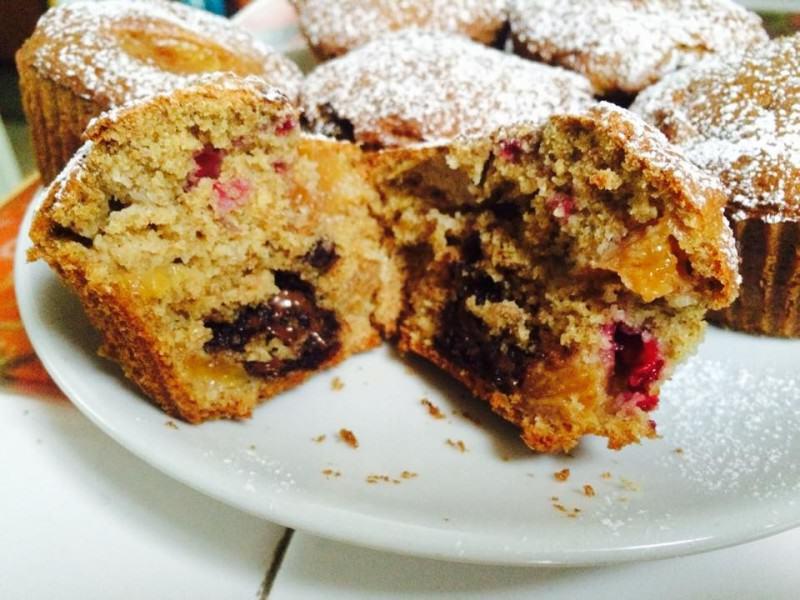 Muffin light dal cuore morbido