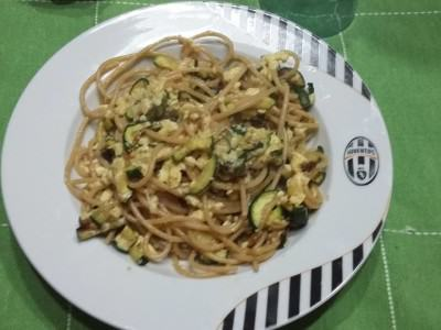 Carbonara Light di zucchine
