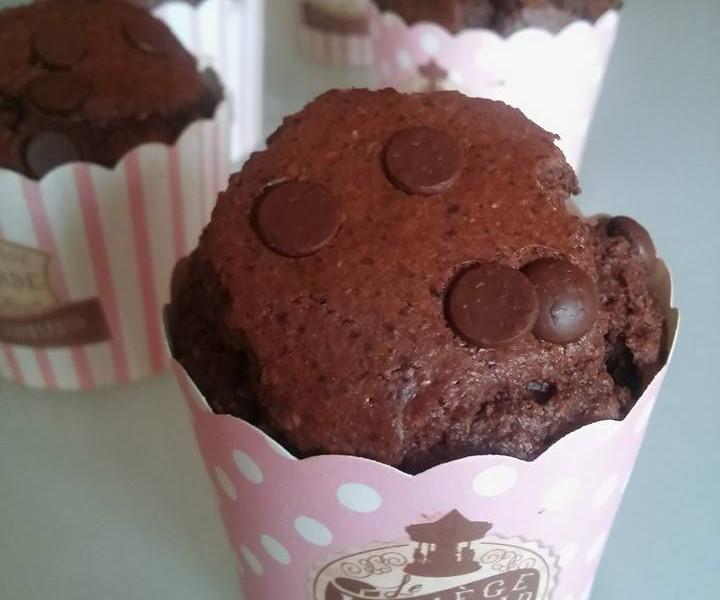 Muffin Light al triplo cioccolato