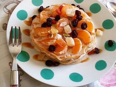 Pancakes di albumi