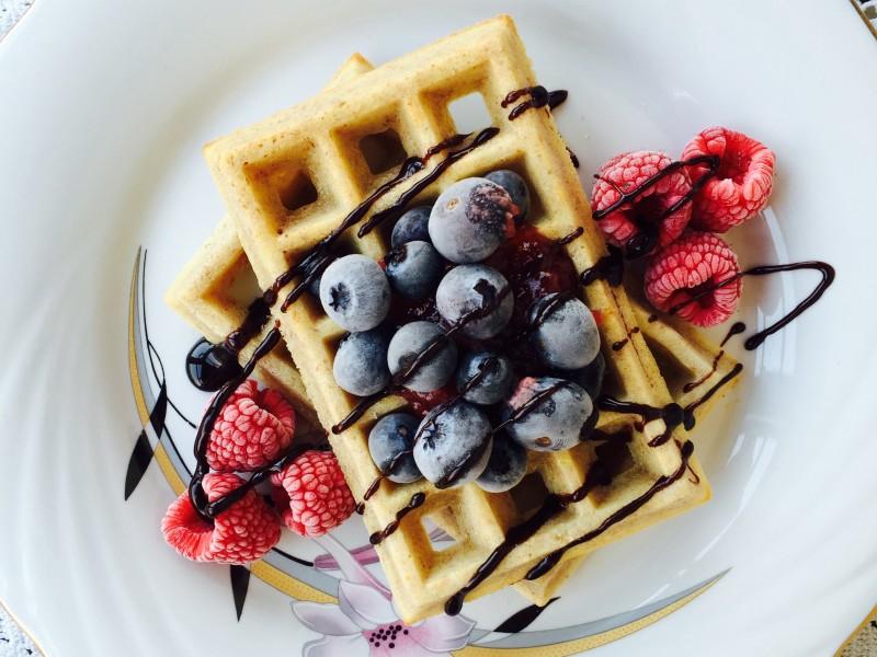 Waffle integrali Light : ricetta con cottura in forno