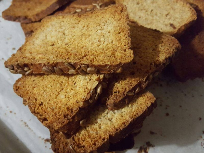 Fette biscottate integrali