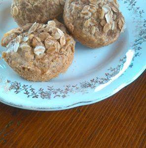 Muffin vegani con mela e cannella