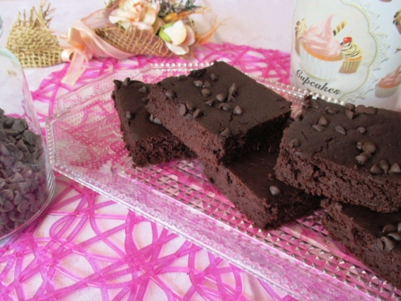 Torta cioccolato e fagioli (senza lattosio nè burro e gluten free)