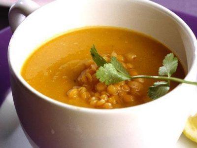 Zuppa Araba di Lenticchie rosse e Limone