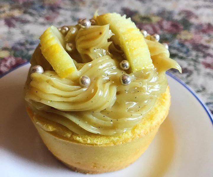 Cupcake Light al profumo di limone e vaniglia