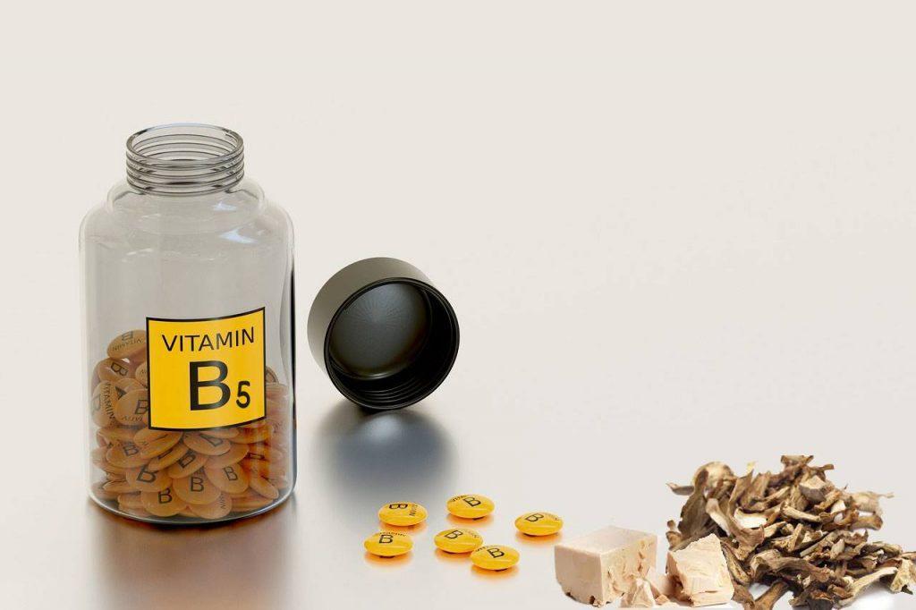 Vitamina B5: tutte le sue proprietà ed cibi che la contengono