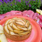 Torta d'avena e mele