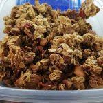 Granola con yogurt