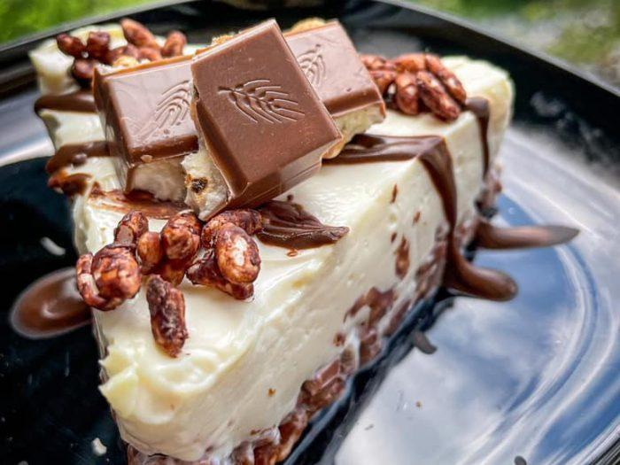 Fit Kinder Cereali Cheesecake