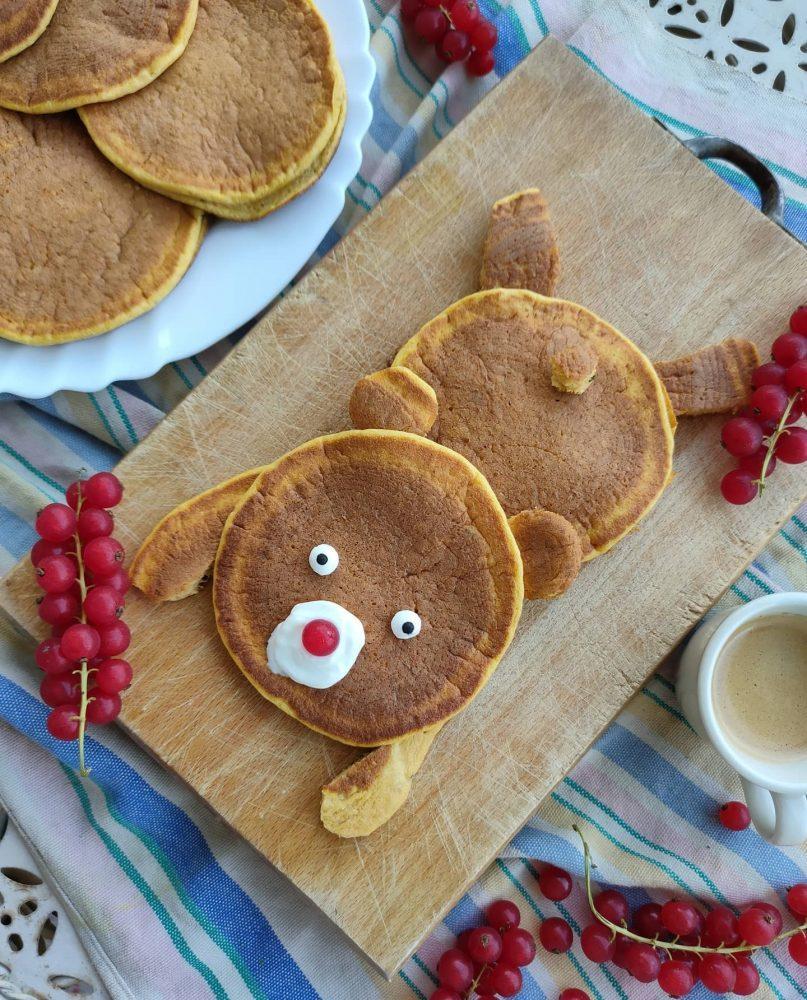 Pancake Orsetto alla Zucca