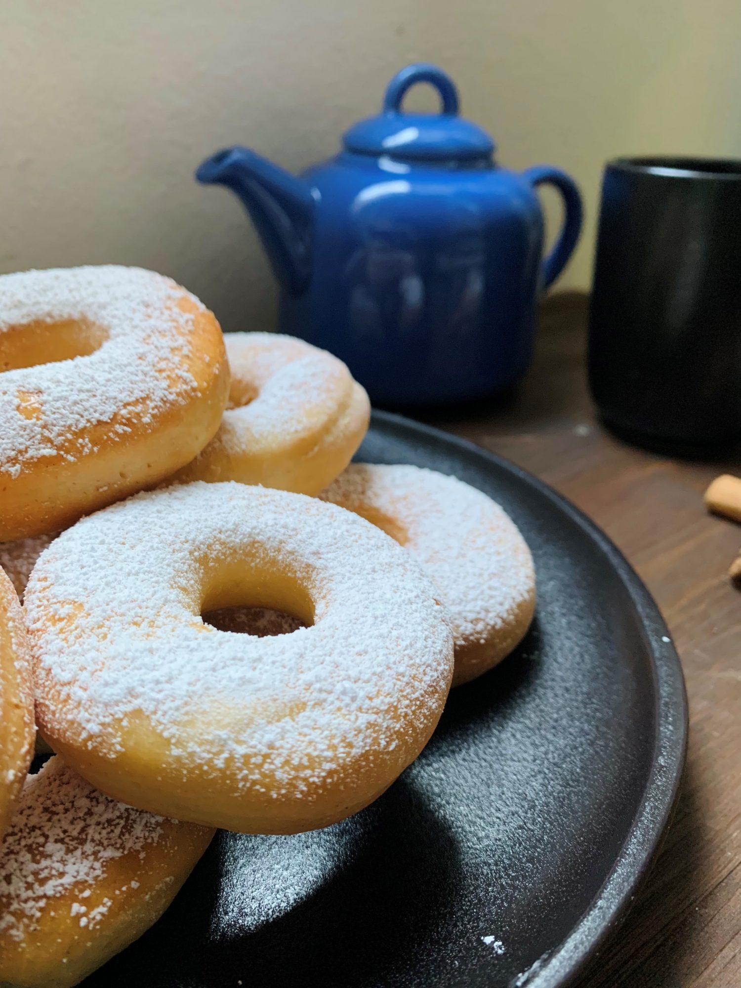 Ciambelline veg zucchero e cannella